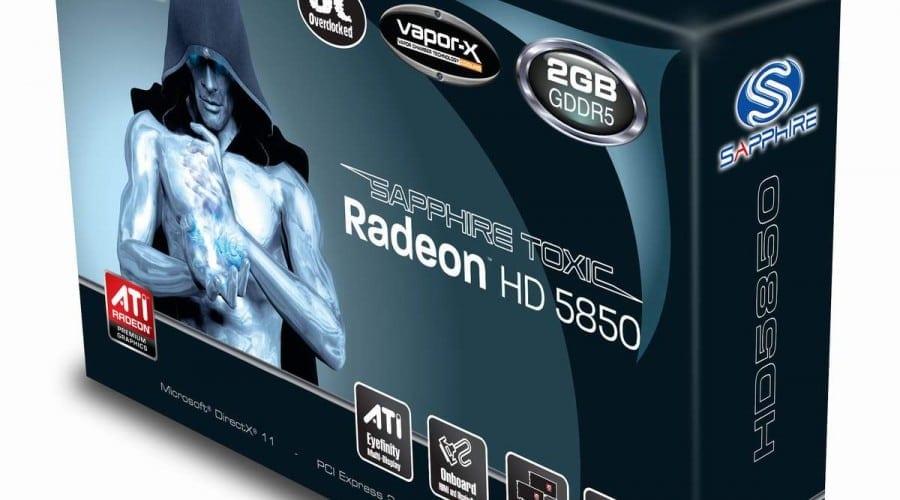 SAPPHIRE HD 5850 TOXIC la 2 GB