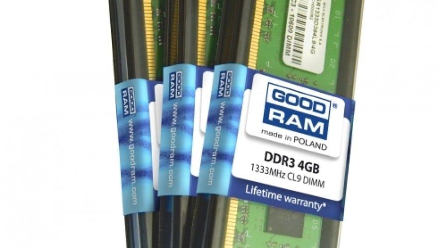 DDR3 de la GOODRAM, în module de 4GB