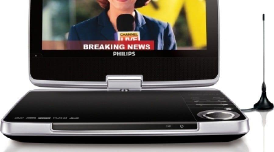 Multimedia în mişcare prin noul DVD portabil Philips