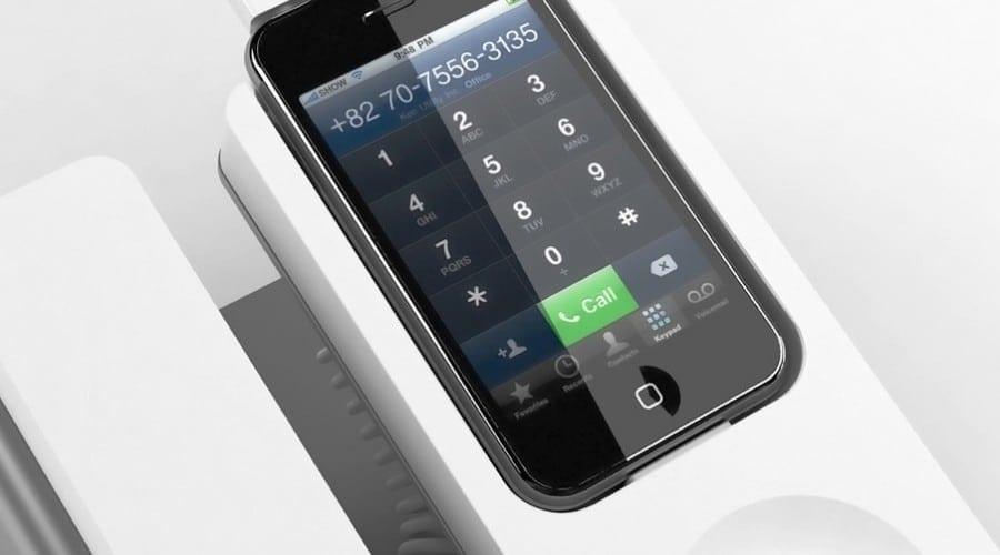 iPhone în rol de fix