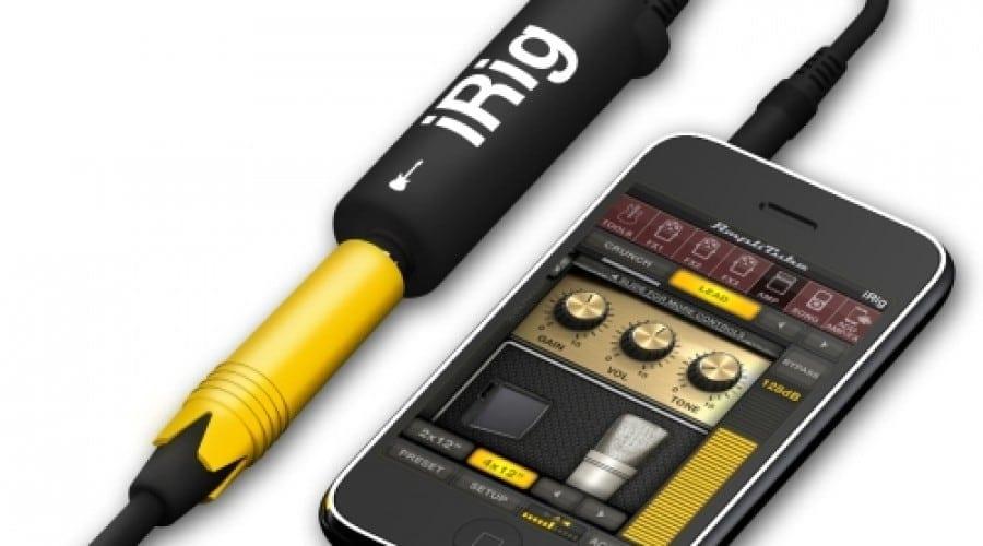 Amplificator de chitară pe iPhone