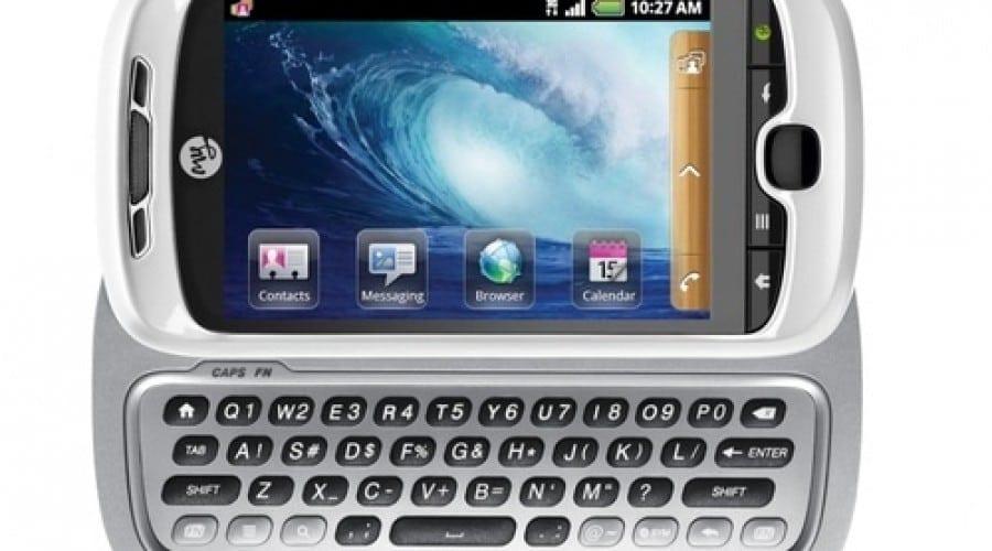 Android şi tastatură slide în myTouch 3G Slide