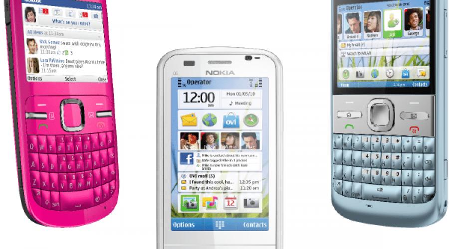 Nokia C3, C6 şi E5, trei noi terminale cu focus pe mesagerie şi reţelele sociale