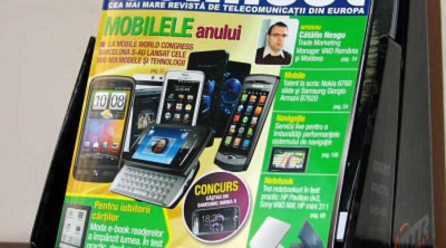 Revista connect – in peste 200 de magazine GSM