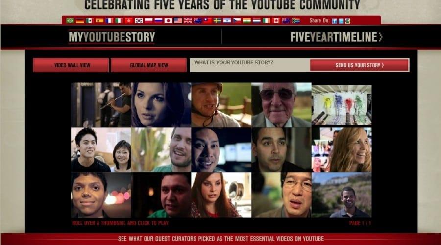 YouTube împlineşte 5 ani
