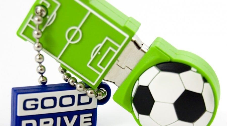 Pendrive pentru fanii fotbalului