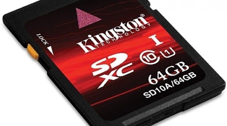 Kingston lansează noile carduri SDXC