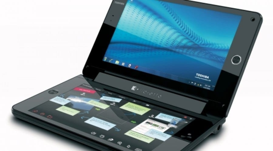 Concept Dual-Touch Screen cu Toshiba Libretto