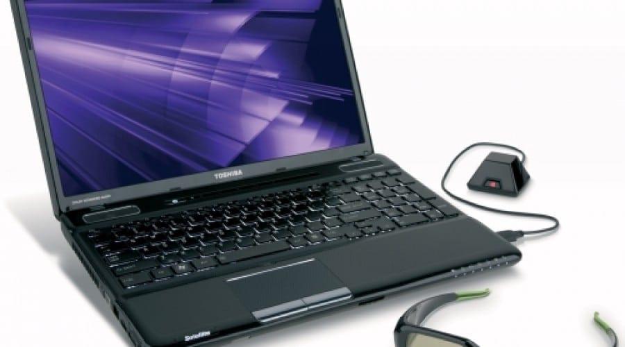 Laptop 3D Toshiba Satellite A665