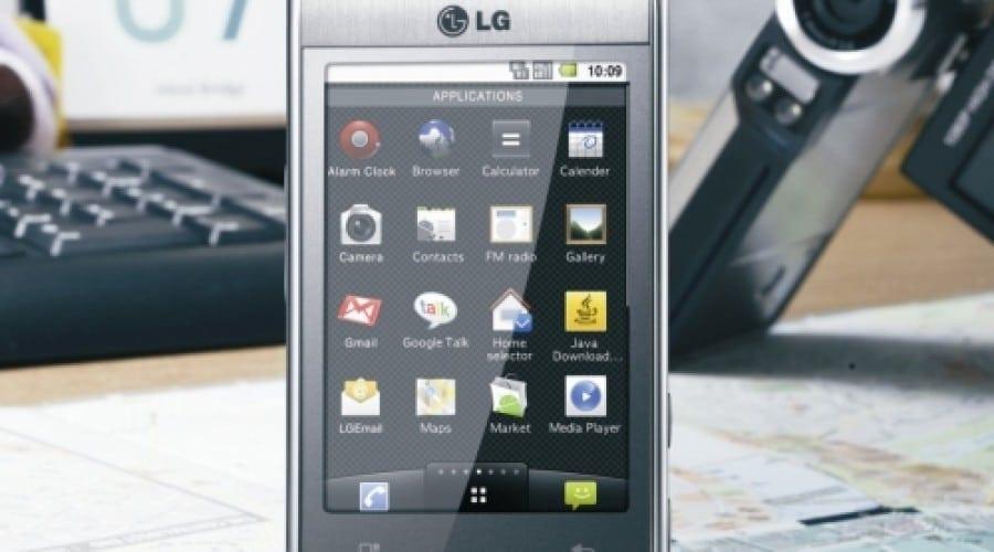 LG Optimus mizează pe Android