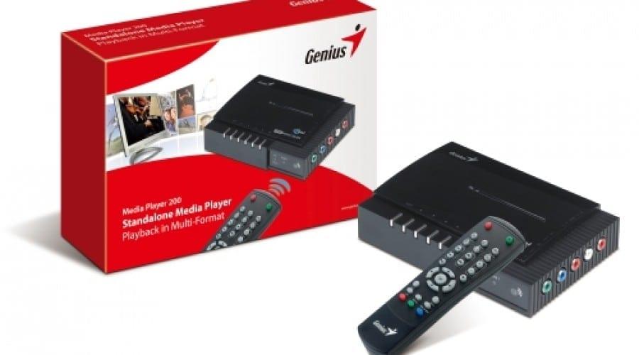 Genius Media Player 200 te scapă de cabluri şi adaptoare