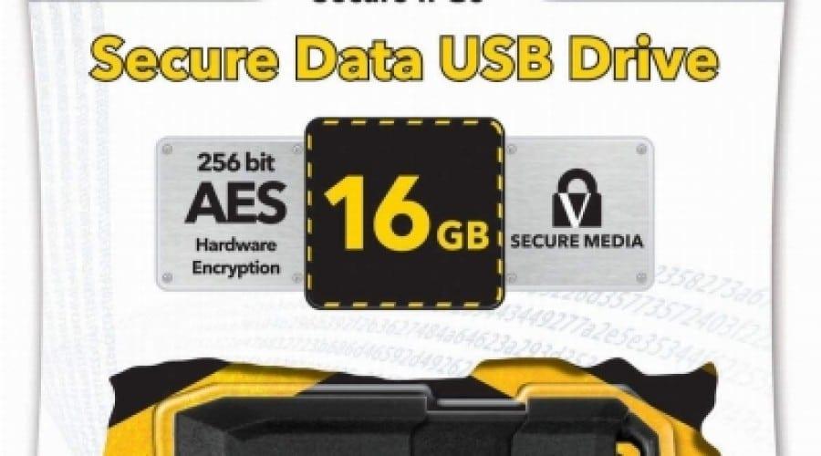 Securitatea primează cu noua memorie USB Verbatim