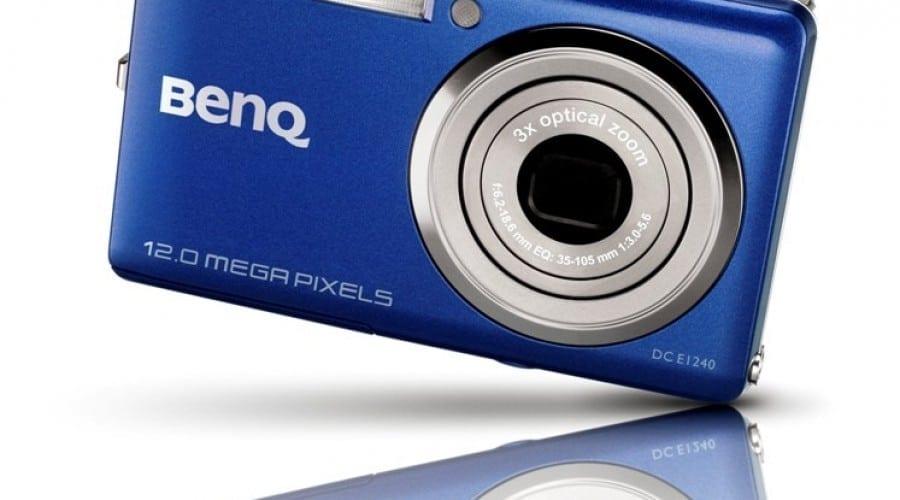 SCOP Computers prezinta camera foto digitala cu filmare HD 720p, BenQ E1240