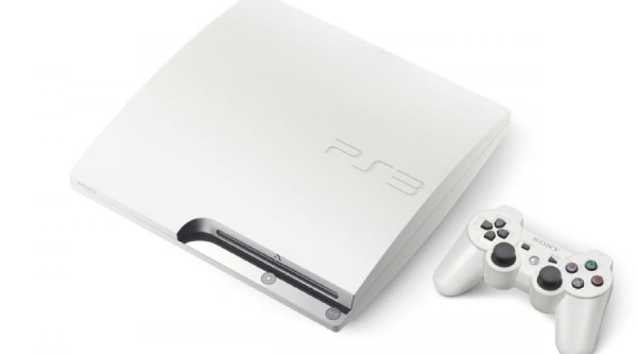 PlayStation 3 Slim pe alb
