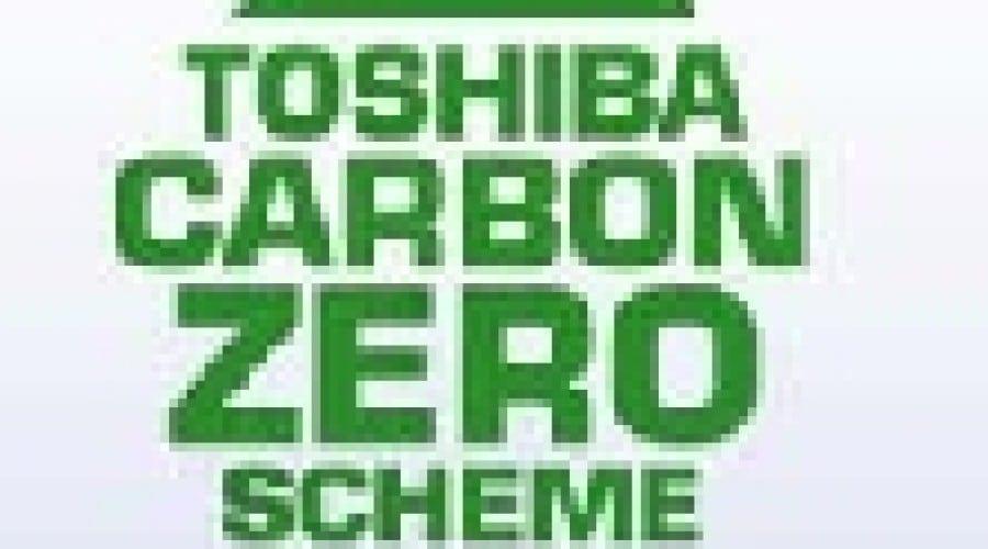 Toshiba Carbon Zero, în armonie cu natura
