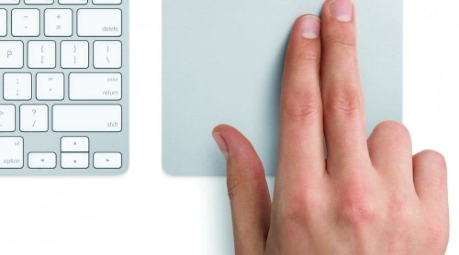 Trackpad-ul magic al celor de la Apple