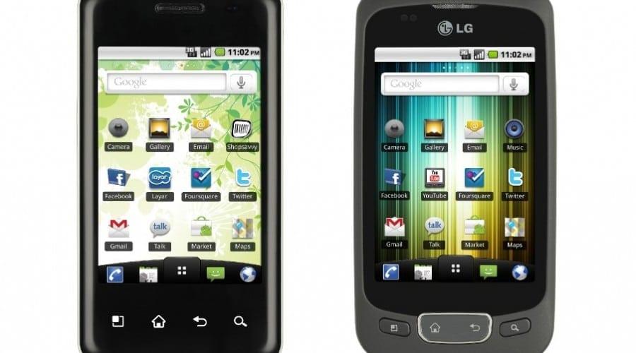 Duet Android – LG Optimus One şi Optimus Chic