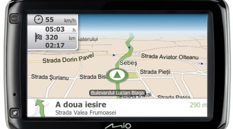 Mio lansează S605, cu software-ul Spirit II