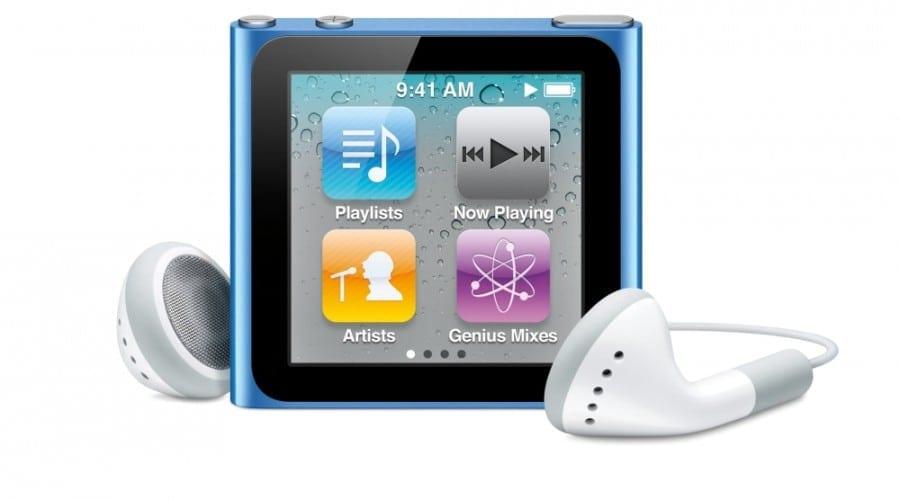 Noul iPod Nano – Mai mic, mai uşor, fără click-wheel