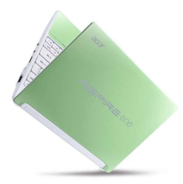 Acer Aspire One Happy, pete de culoare