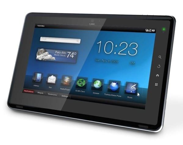 Toshiba demonstrează calităţile Tablet-ului Folio
