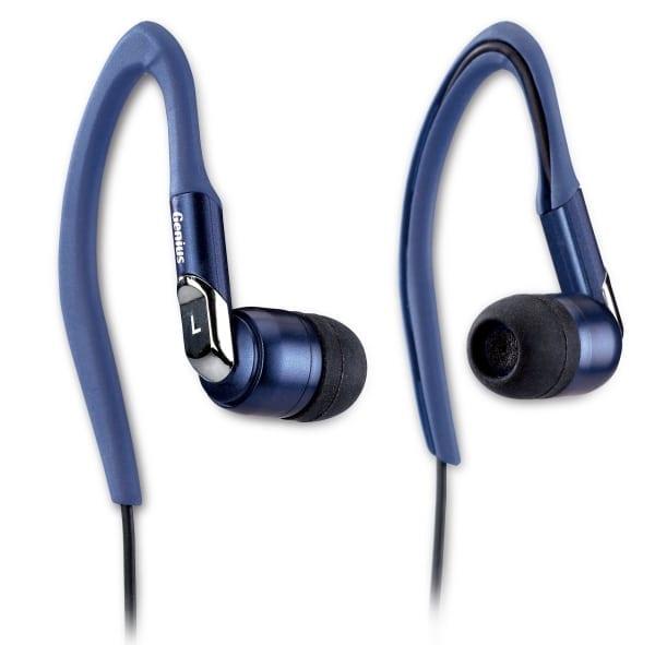 Sport cu noile căşti auriculare Genius