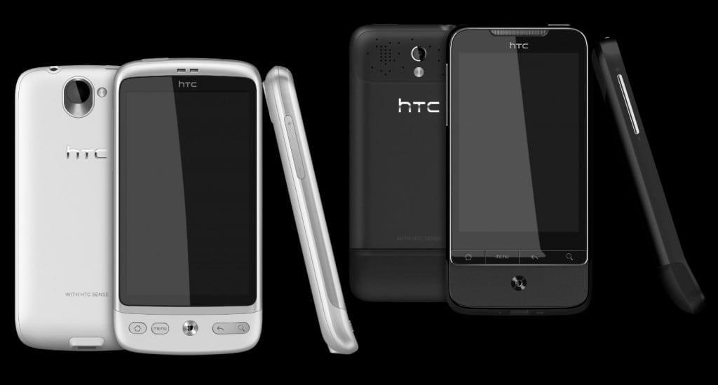 Phantom Black şi Brilliant White, două noi culori HTC