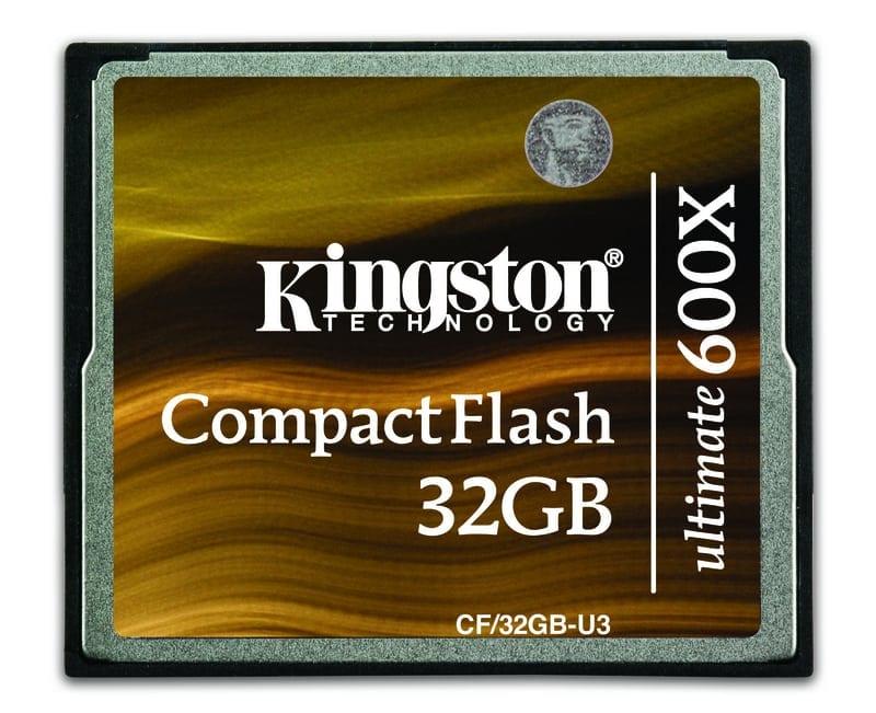 Kingston anunţă Compact Flash Ultimate 600x
