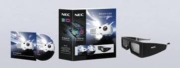 Kit 3D de la NEC