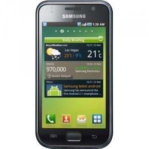 Android 2.3 soseşte pentru Samsung Galaxy S şi Galaxy Tab