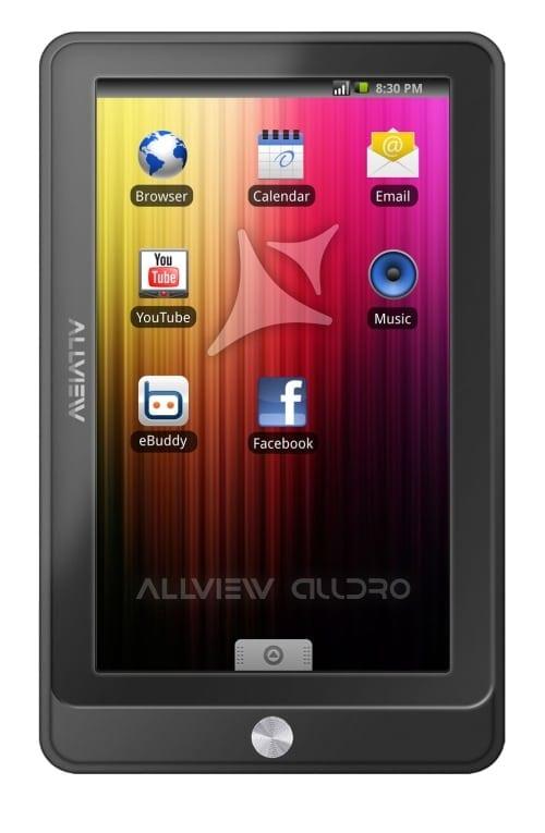 Allview pregăteşte tablet-ul PC AllDro