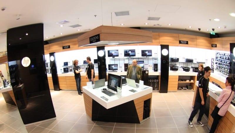 Produse high end în primul HP Brand Store