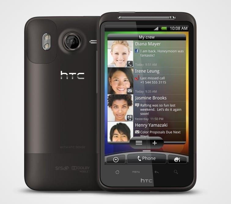HTC Desire HD, în România