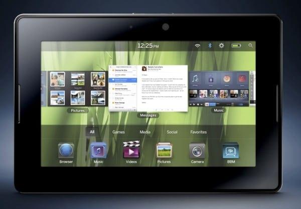 Impresionantul BlackBerry PlayBook