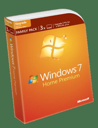 Windows 7 Family Pack, în România