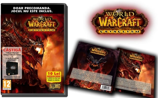 World of Warcraft Cataclysm, gata de precomandă