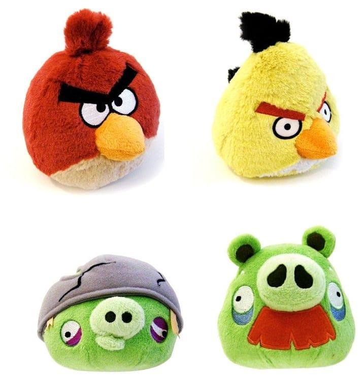 Angry Birds invadează piaţa jucăriilor