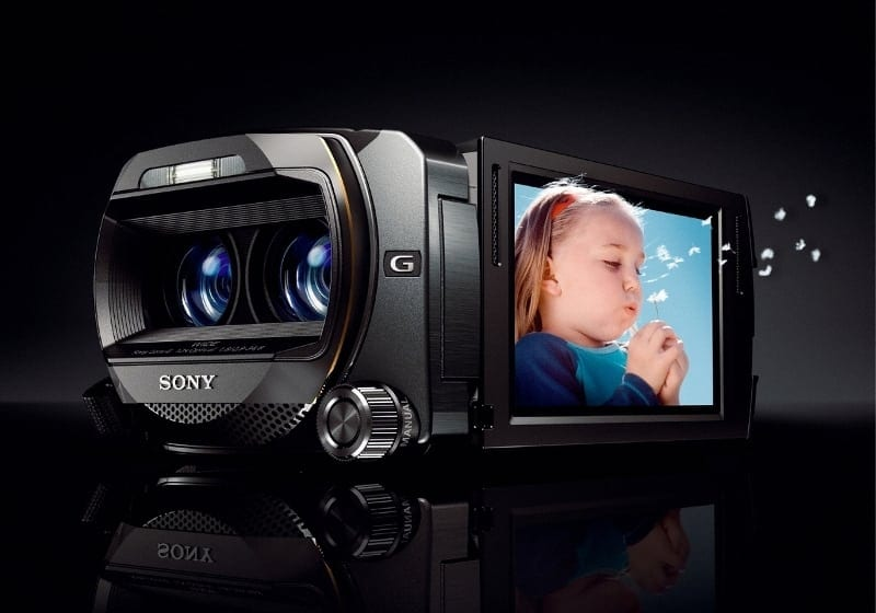 Sony lanseaza camera video Full HD Handycam 3D la CES 2011
