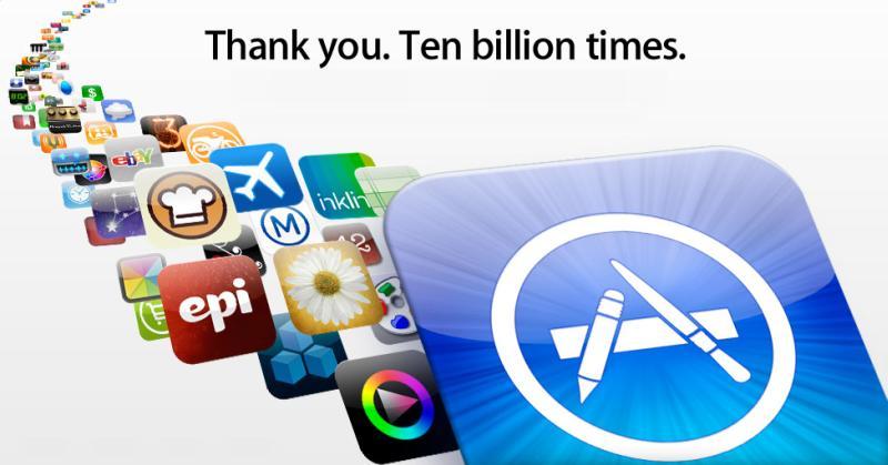 App Store depăşeşte limita de 10 miliarde