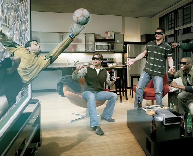 Proiectoarele 3D BenQ, în echipă cu NVIDIA, ATI şi Intel