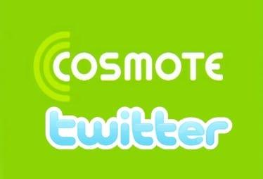 Clientii Cosmote pot primi mesaje de pe twitter prin sms, gratuit