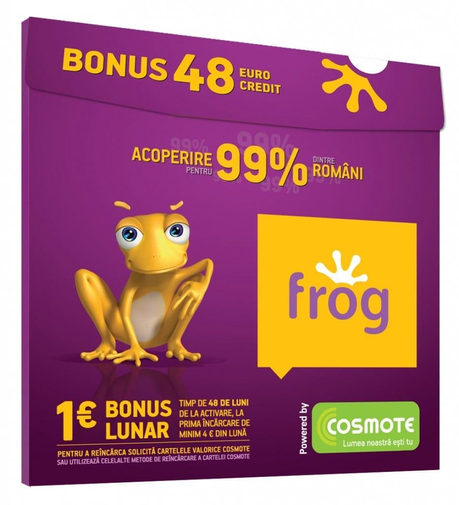 COSMOTE lansează Frog – ofertă pe segmentul prepaid