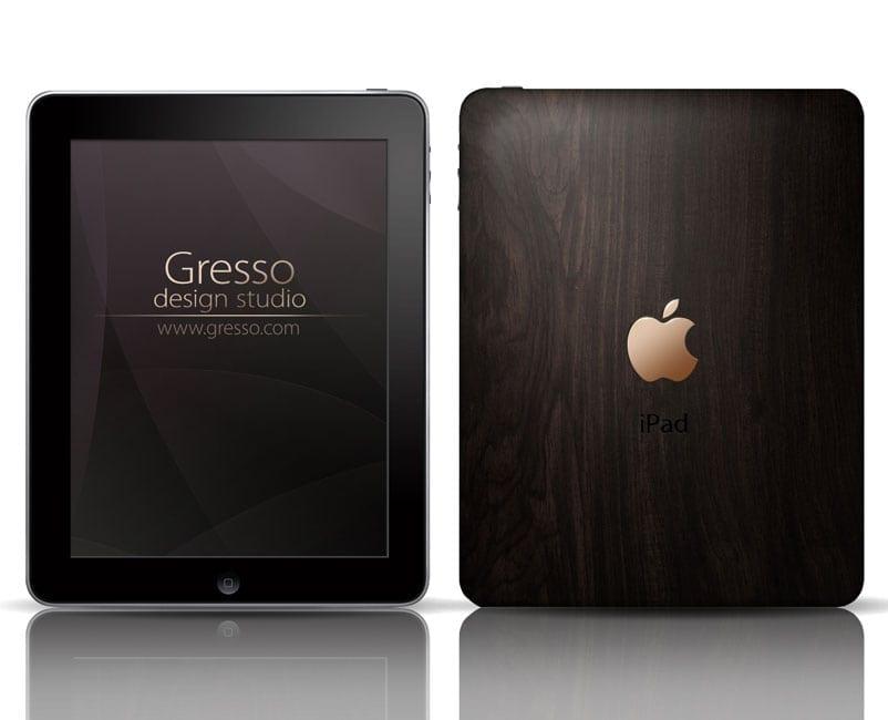Aur, lemn și un iPad