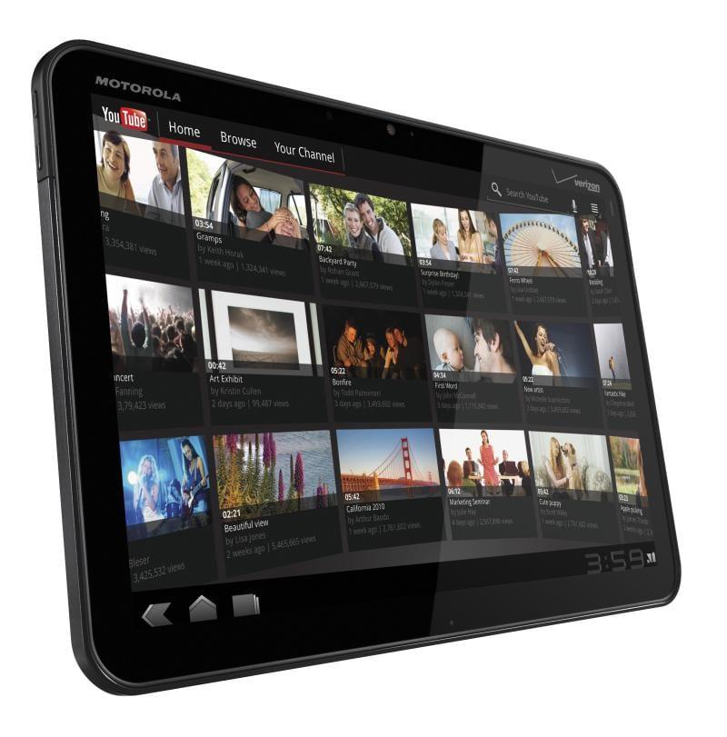 Motorola Xoom, dual core, două camere şi HD