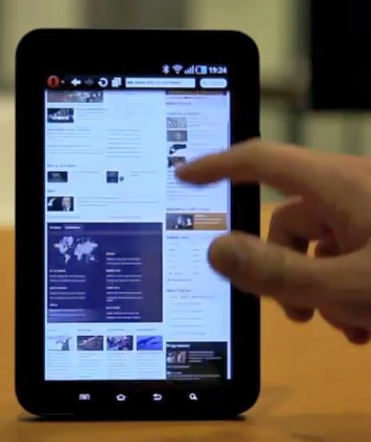 Opera pentru tablet-uri