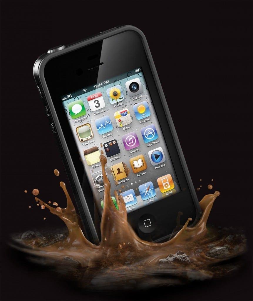 Nu trebuie să te mai temi de apă, şocuri sau praf – carcasa de iPhone 4 LifeProof
