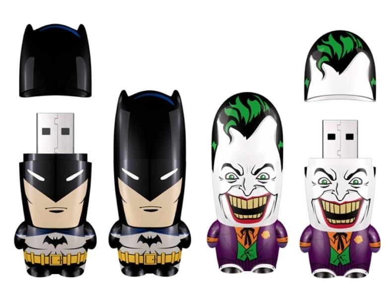 Batman și Joker în varianta stick