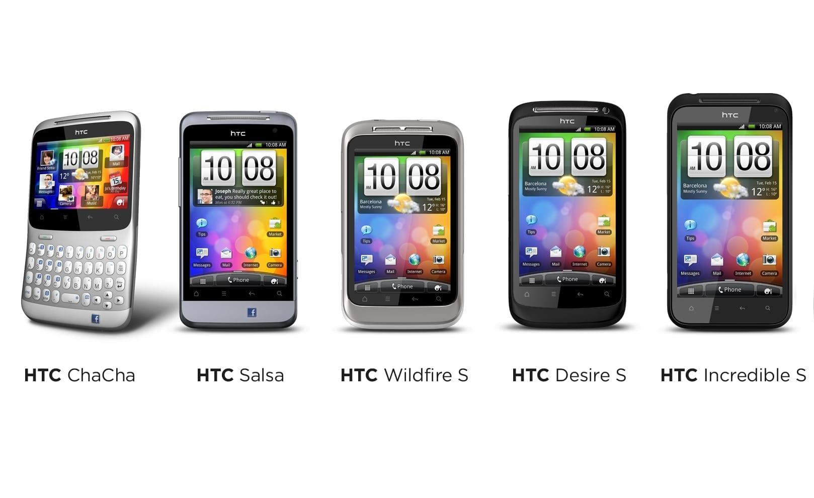 Invazia HTC – Cinci smartphone-uri pregătite de era Facebook