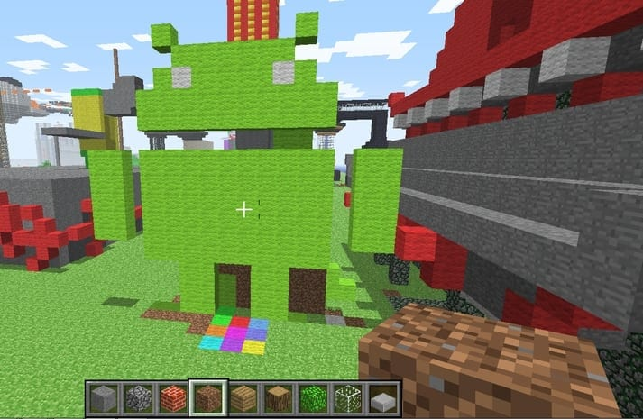 Minecraft pe Android si iOS