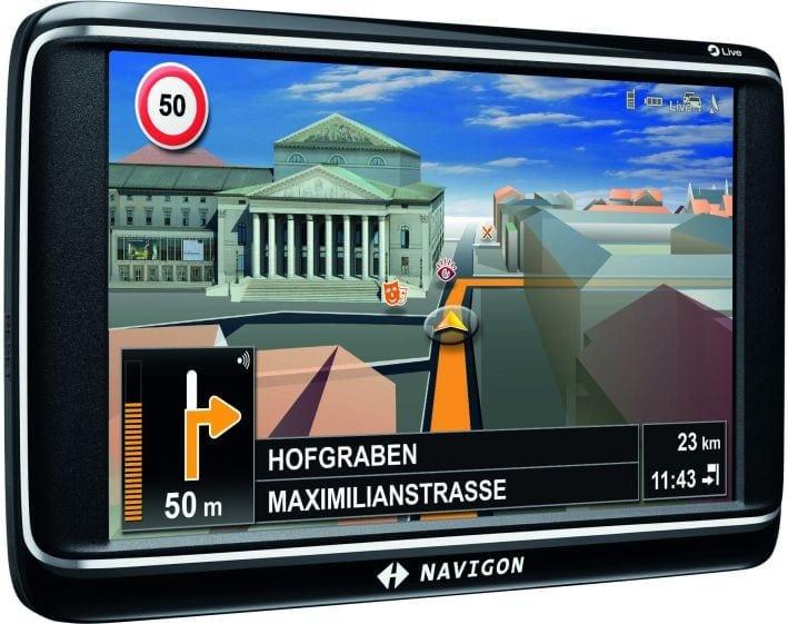 Top Class – Tomtom Go Live 1000, Navigon 70 Premium Live, Garmin nüLink 1695